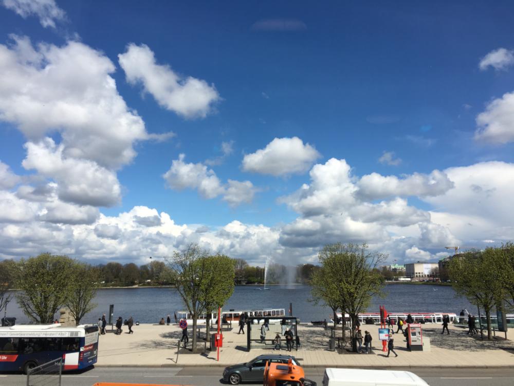生活在德國 | 天空太美了!忍不住當起觀光客…