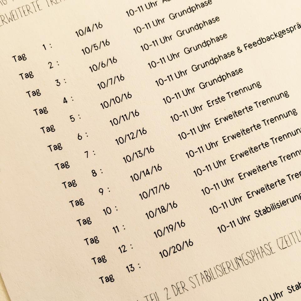 小搗蛋上Kita | 五體投地。德國幼兒園「適應進程表」